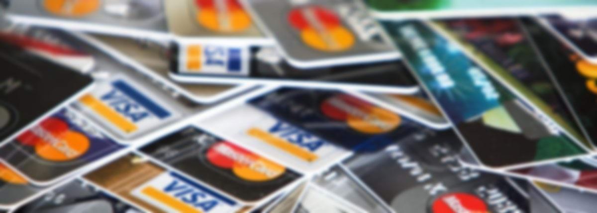 många kreditkort